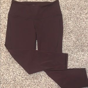 Victoria Secret Sport Cropped Mesh Leggings.